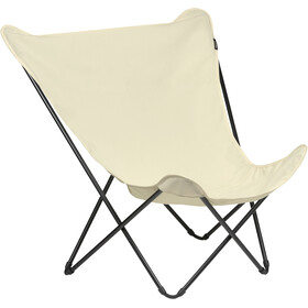 Lafuma Mobilier Pop Up XL Campingstol Airlon + Uni, beige/sort